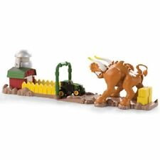 NEW JOHN DEERE MIGHTY MOVERS TRACTOR LAUNCHER BULL PEN ESCAPE PLAYSET - LP53328