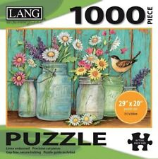 MASON FLOWERS - LANG ART - 1000 PIECE JIGSAW PUZZLE - BRAND NEW - 5038018