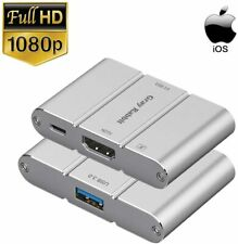 Gray Rabbit iPhone iPad iPod to HDMI Adapter Converter, USB C/Type C to HDMI Ada