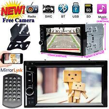2-DIN Car Stereo CD DVD Bluetooth MP3 Radio &Camera For 2005-2007 Honda Odyssey