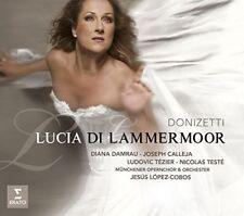 "CD NEUF SOUS BLISTER ""LUCIA DI LAMMERMOOR"" DE DONIZETTI - DIANA DAMRAU"