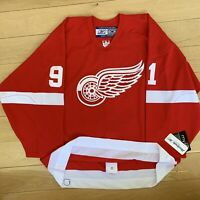 Red Wings Reebok On-Ice Stitched Jersey #91 Fedorov Men's Size 52 Custom Cryster
