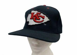 Vintage Kansas City Chiefs NFL Starter Unisex Baseball Cap Hat Black One Size