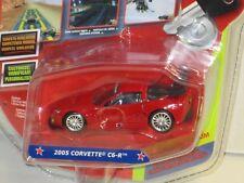 1/64 JADA 10VOX TRACKSTERS ONLINE RACING ALL STAR 2005 CORVETTE C6-R RED , NEW