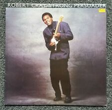 THE ROBERT CRAY BAND - STRONG PERSUADER - ORIGINAL 1986 VINYL LP - EXCELLENT