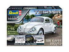 REVELL TECHNIK 00450 - 1/16 VW KÄFER 1951/52 - LICHT & INNENRAUMBELEUCHTUNG -NEU
