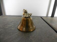 Enesco ~ Brass & Metal Bird Bell ~ 1979 ~ Vintage