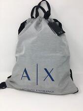 BRAND NEW ARMANI EXCHANGE A|X SACK/BACKPACK BAG