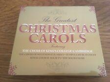 "The Greatest Christmas Carols ""Various Choirs"" 3cd Set 60 Tracks NEW & SEALED"