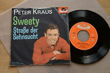PETER KRAUS Sweety / Strasse der Sehnsucht 7inch single Polydor 24847