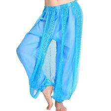 Belly Dance Costumes Sequins Balloon Bloomers Trousers Dancer Tribal Harem Pants