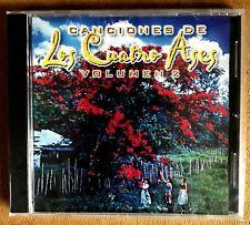 CANCIONES DE LOS CUATRO ASES VOL.2 - CD NEW SEALED
