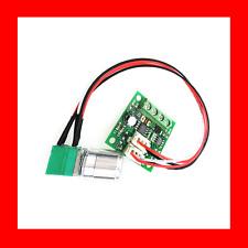 2A Motor Speed Switch Controller PWM Fuse Regulator DC 1.8V 3V 5V 6V 12V +Cable