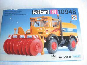 Z262* Kibri H0 10948 Unimog + Schneefräse