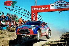 Robert KUBICA Portugal Rally SIGNED AUTOGRAPH 12x8 CITROEN Photo AFTAL COA