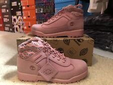Womens Opening Ceremony X Dickies X Timberland Pink Waterbuck Field Boots