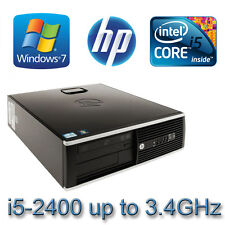 HP 8200 Elite Desktop PC i5 Quad Core  8GB Ram 120GB  SSD Choice of WIN 7 or 10