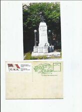 Confederate Soldiers Monument Durham North Carolina postcard