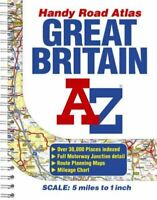 Great Britain Handy Road Atlas, Author, No, Very Good, Paperback