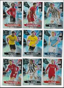 2020/21 Topps Chrome UEFA Champions Inserts Pick Card Complete Your Set