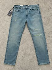 LEVIS MADE AND CRAFTED LMC 502 MADE IN JAPAN NITCHIBOTSU 36X32 SELVEDGE