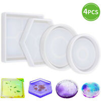DIY Silicone Mold For Eco-Friendly Sturdy Hexagon Square Round Mold