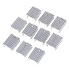 10pcs Aluminium Heat Sink Transistor Radiator for TO220 Triode 20*15*10_AW