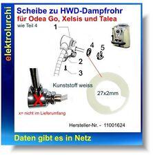 Scheibe Kunststoff weiss zu HWD Dampfrohr Saeco Odea Go, Xelsis, Talea, 11001624