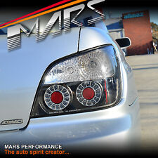JDM Black LED Tail Lights for SUBARU Impreza Sedan 01-03 WRX STi RX RS S GX RV