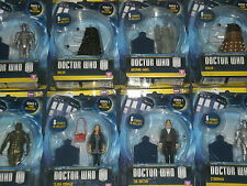 BBC Doctor Who Series 7 Action Figures: Matt Smith, Jenna Coleman, Monsters,New!