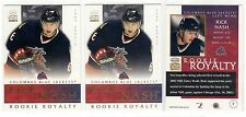 1X RICK NASH 2002 03 Pacific Crown Royale #7 RC Rookie Lots Available Rangers