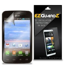 6X EZguardz Screen Protector Shield HD 6X For LG Optimus Dynamic II L39C (Clear)