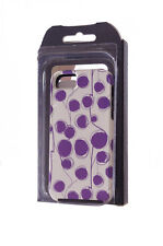 Casemate iphone 5 hard case 2 protective layers purple white circle modern NEW