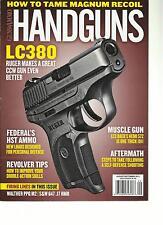GUNS & AMMO, HAND GUNS,   AUGUST / SEPTEMBER, 2013 ( HOW TO TAME MAGNUM RECOIL )