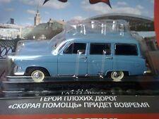 1:43 Volga GAZ-22 1962 Estate Wagon Russian LEGEND Diecast + Magazine #18 RARE