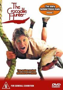 DVD THE CROCODILE HUNTER VOLUME 1 THE STORY BEHIND STEVE IRWIN *** MUST SEE ****