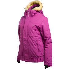 $224 NEW 1o.OOOmm BILLABONG SNOWBOARD SHA-MAL-HO ULTRA VIOLET JACKET WOMENS M