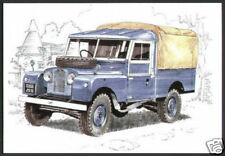 LAND-ROVER SERIES 1 Original Postcard Set by Golden Era