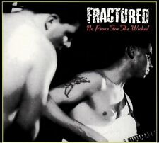 FRACTURED No Peace For The Wicked CD - NEW Psychobilly Neo Rockabilly Punk