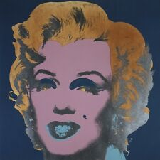 ANDY WARHOL Marilyn Monroe 1967 (on peacock) PRINT POSTER  OUT OF PRINT LAST ONE