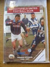 19/07/1997 Mangotsfield United v Bristol Rovers [Friendly] . Item In very good c