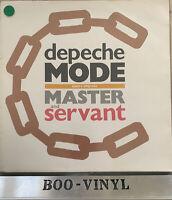 "Depeche Mode Master And Servant (Slavery Whip Mix)  12Bong 6 Vinyl 12"" Single EX"
