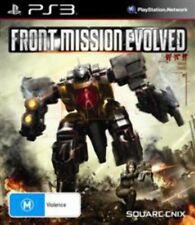 Front Mission Evolved PS3 VERY GOOD CONDITION ORIGINAL GAME CASE WITH MANUAL