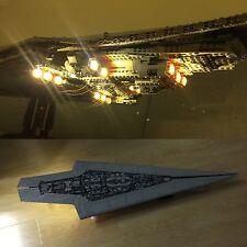 LED Light Kit for Lego 10221 & Lepin 05028 Super Star Destroyer USB Powered