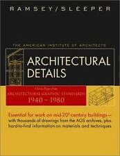 Architectural Details : Classic Pages from Architectural Graphic Standards 19…