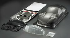 RC 1 10 EP Car 190mm Carbon printed Bodyshell body shell SHV GT fits Tamiya,HPI