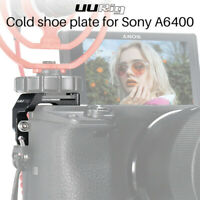 New UURig R011 Microphone Extension Bracket Mount Cold Shoe Plate For Sony A6400
