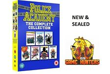 Police Academy: The Complete Collection 7 film [DVD] Comedy REGION 2 NEW SEALED