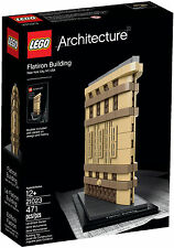 2015 LEGO ARCHITECTURE FLATIRON BUILDING 21023, NEW, HARD TO FIND, GREAT GIFT!