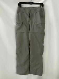 The North Face Gray Zip Off Pants - Size 0 Women's